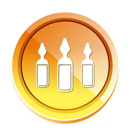 ampoules icon Ilustracja