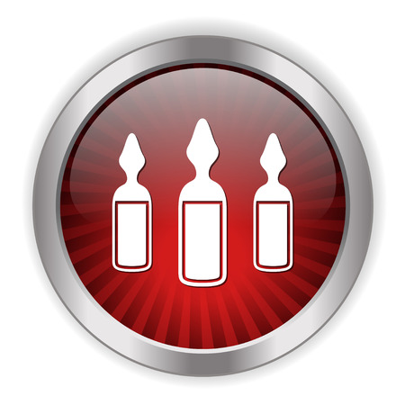 ampoules icon Illustration