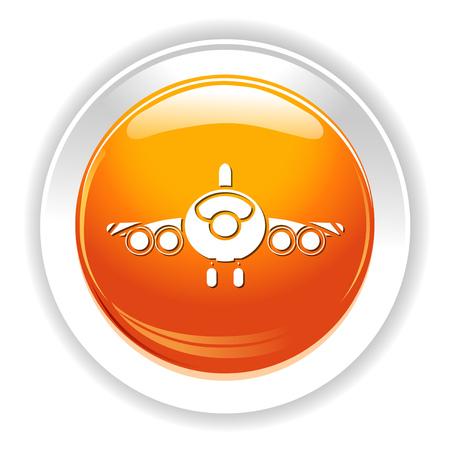 airplane icon Фото со стока - 80791414