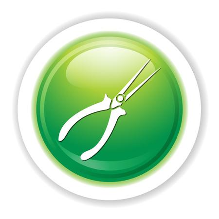 snips: Aviation snips icon.