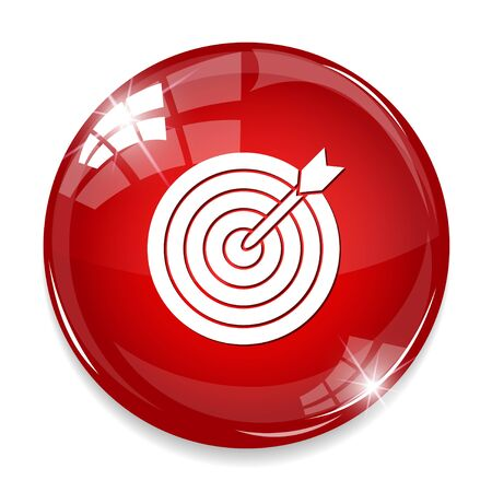 effectiveness: An archery target icon.