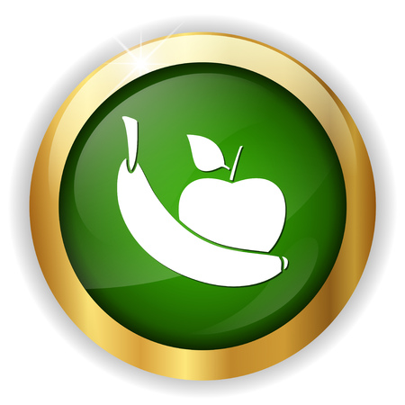 An apple and banana icon button.