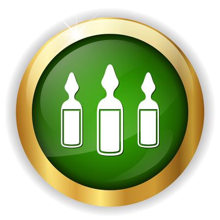 An ampoules icon button.