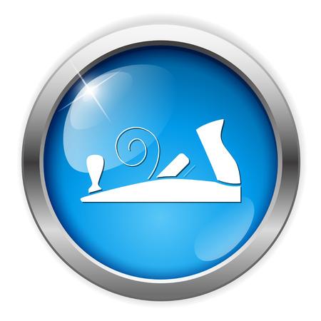 Icono plano del banco Foto de archivo - 80836054