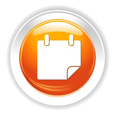 planner: blank planner icon Illustration
