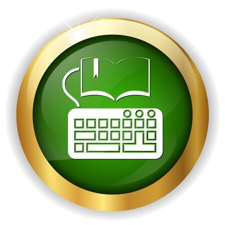 reader: book keyboard icon