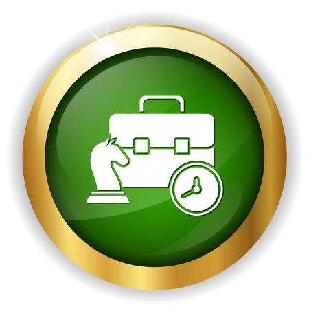 chessman: chess icon Illustration