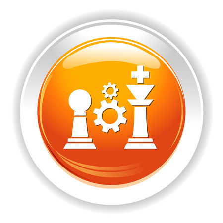 chess rook: Chess pieces icon.