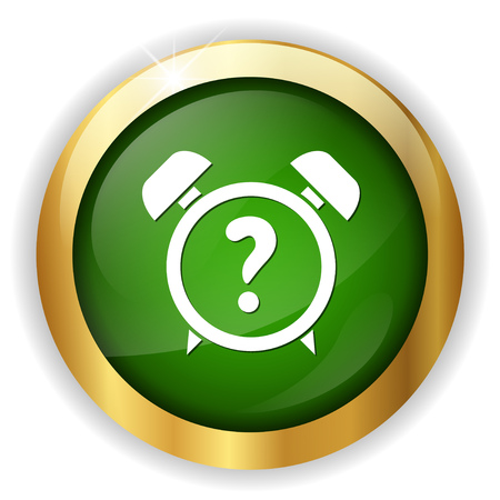 clock quiz icon