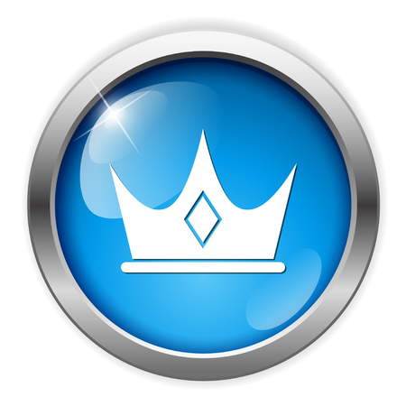 authority: crown icon Illustration
