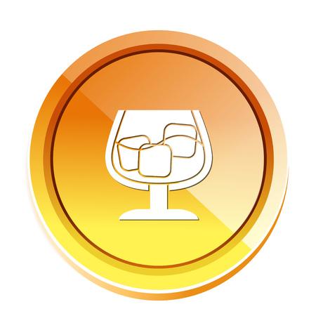 bourbon: cognac icon Illustration