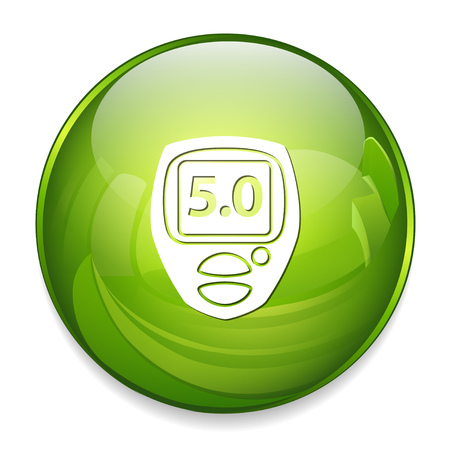 electronic glucometer icon