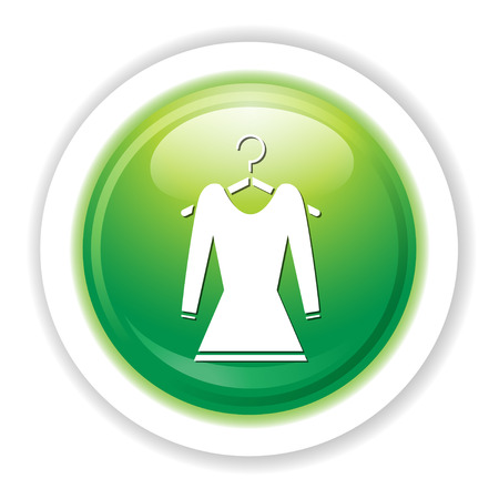 hangers: dress on hanger icon