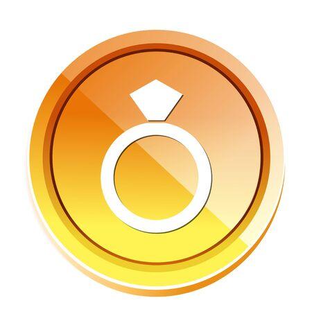 diamant ring icon