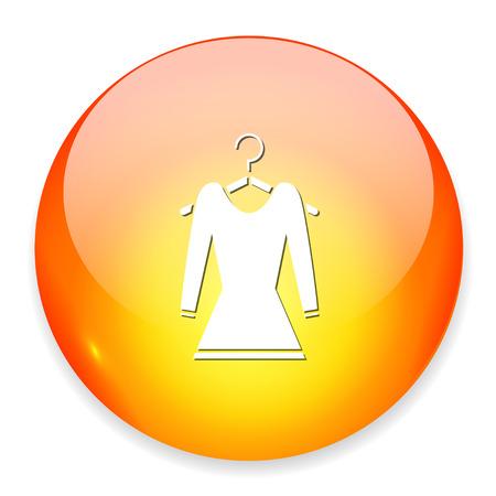dress on hanger icon