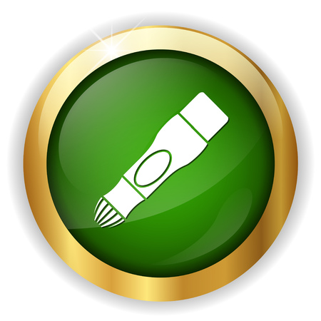 diabetes syringe: Electronic insuline checker icon