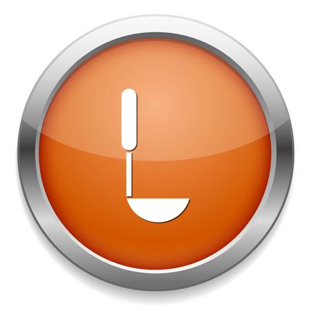 dipper: Dipper icon Illustration