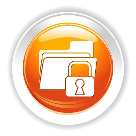 folder secured icon