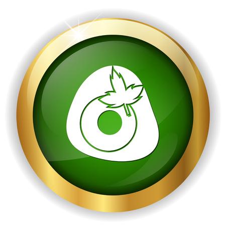 fried egg icon Illustration