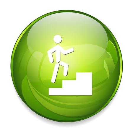 Icone de progression Banque d'images - 81181095