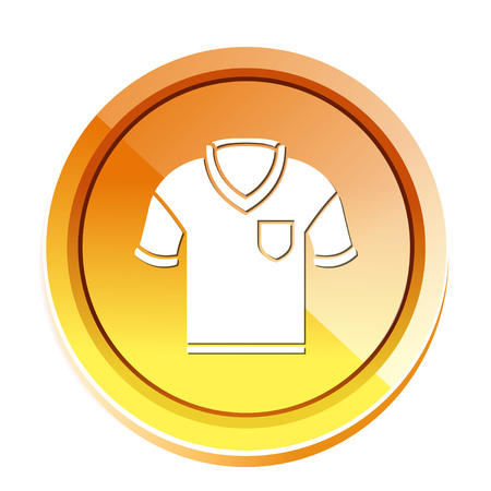 Golf shirt icon