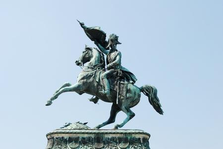 karl: Equestrian statue of Erzherzog Karl  Archduke Charles  in Heldenplatz, Vienna