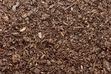 Compost, soil or dirt abstract background texture