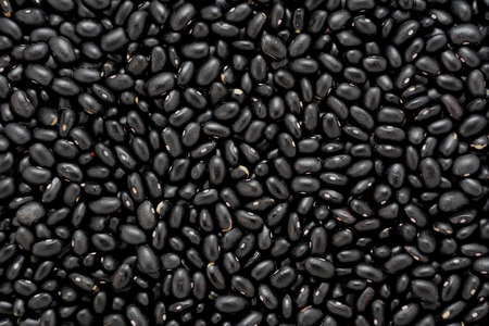 turtle bean: Black turtle beans, abstract background texture
