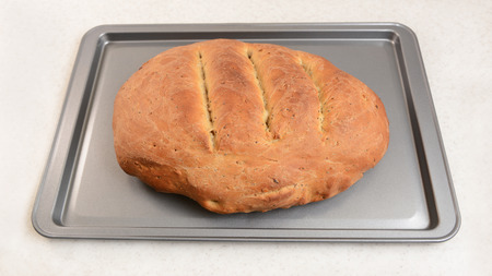 malted: Freshly-baked multi seed malted bread, hot from the oven