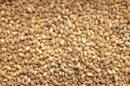 pearl barley: Pearl barley as an abstract background texture