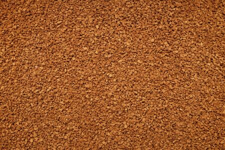 instant coffee: Instant coffee granules as an abstract background texture Archivio Fotografico