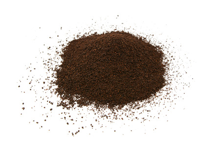 loose leaf: Loose leaf tea, isolated on a white background