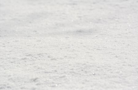 Fresh untouched snow in winter as an abstract background