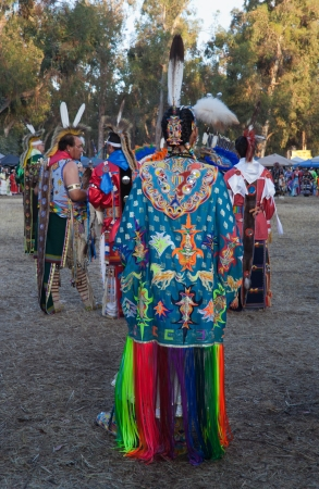 Stanford University Campus, Palo Alto, CA-May 12th, 2012    American Indian people at the 41th Annual  PowWow in Stanford