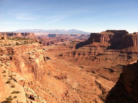 Utah canyons  Stock Photo