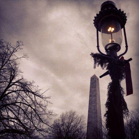 Winter in Boston MA Stock Photo
