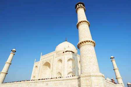 marble building present to majestic lover tajmahal india photo