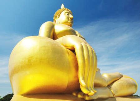 watmuang  angthong In Thailand photo