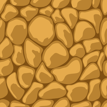 Sand Stone Seamless.  illustration Stock Vector - 6768588