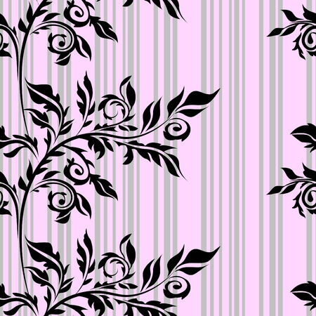 Seamless floral background Stock Vector - 7736043