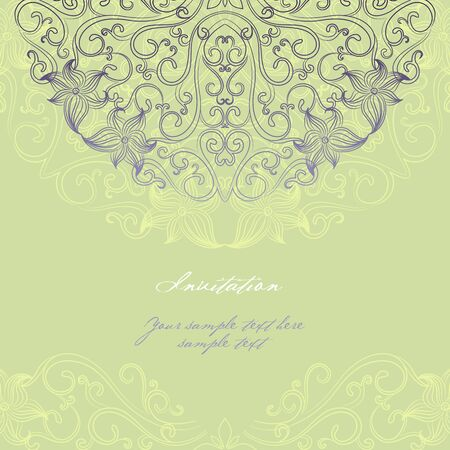 Elegant invitation cards.  Stock Vector - 14022000