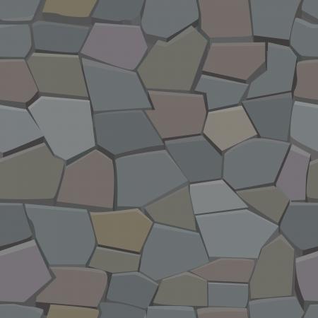 castle wall: Stone seamless pattern