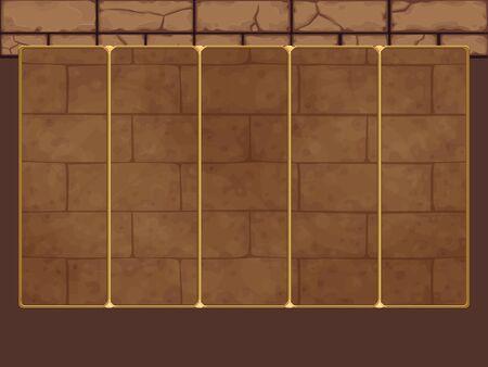slots: Background for slots game. Vector illustration Illustration