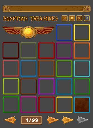 slots: Elements for slots game. Vector illustration Illustration