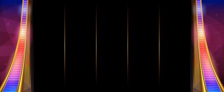 Pattern for slots game. Illustration