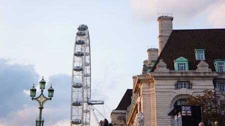 eye: London scene Stock Photo