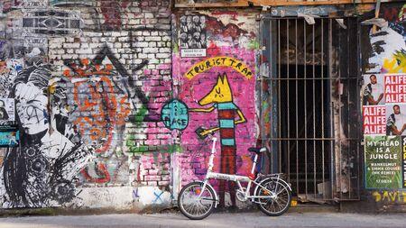 art: Street art Stock Photo