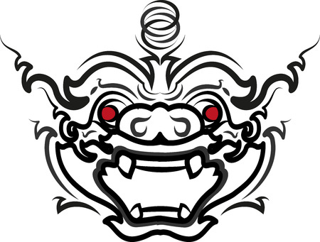 ramayana: Thai Art Ramayana hanuman-monkey styethai vector laithai (thailand)