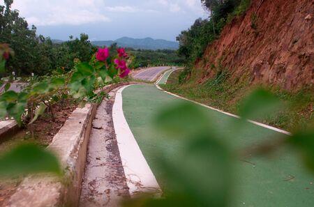 rural roads: Bike lane on rural roads