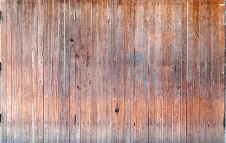 wooden partition: Old wooden folding door Aka accordion door aged by rain water and sun light
